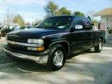 2001 Onyx Black Chevrolet Silverado 1500 LT Extended Cab #23913862
