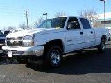 2006 Summit White Chevrolet Silverado 1500 LT Crew Cab #23900806