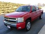 2010 Victory Red Chevrolet Silverado 1500 LT Crew Cab #23924527