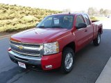 2010 Victory Red Chevrolet Silverado 1500 LT Extended Cab 4x4 #23924554