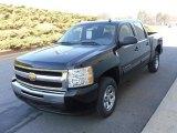 2010 Black Chevrolet Silverado 1500 LS Crew Cab #23924569