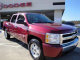 2007 Sport Red Metallic Chevrolet Silverado 1500 LT Z71 Crew Cab 4x4 #23920135