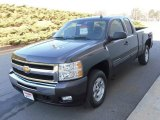2010 Taupe Gray Metallic Chevrolet Silverado 1500 LT Extended Cab #23924540