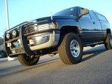 2000 Patriot Blue Pearlcoat Dodge Ram 1500 SLT Extended Cab 4x4 #23906329