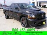 2006 Black Dodge Ram 1500 SRT-10 Quad Cab #23915383