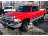 2001 Flame Red Dodge Ram 1500 SLT Club Cab 4x4 #23987470