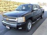 2010 Black Chevrolet Silverado 1500 LT Crew Cab 4x4 #23924541