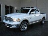 2010 Stone White Dodge Ram 1500 Laramie Crew Cab 4x4 #23905061