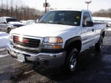 2007 Summit White GMC Sierra 2500HD Classic Regular Cab #23900829