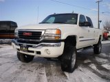 2005 Summit White GMC Sierra 2500HD SLT Crew Cab 4x4 #23986658