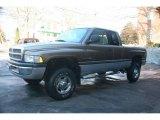 2001 Medium Bronze Pearl Coat Dodge Ram 2500 SLT Quad Cab 4x4 #23948743