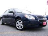 2008 Imperial Blue Metallic Chevrolet Malibu LS Sedan #23904303