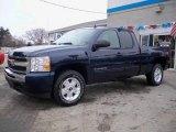 2009 Imperial Blue Metallic Chevrolet Silverado 1500 LT Extended Cab 4x4 #23937081