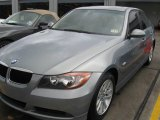 2007 Space Gray Metallic BMW 3 Series 328i Sedan #23919038