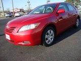 2008 Barcelona Red Metallic Toyota Camry LE #23913395