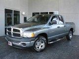 2005 Mineral Gray Metallic Dodge Ram 1500 ST Quad Cab #23905070