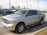 2010 Bright Silver Metallic Dodge Ram 1500 Big Horn Crew Cab #23914922