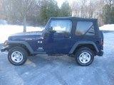 2006 Midnight Blue Pearl Jeep Wrangler X 4x4 #23922084
