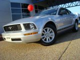 2005 Satin Silver Metallic Ford Mustang V6 Premium Coupe #23939378