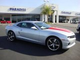 2010 Silver Ice Metallic Chevrolet Camaro SS/RS Coupe #23951434