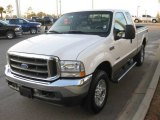 2004 Oxford White Ford F250 Super Duty Lariat SuperCab 4x4 #24072869