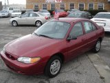 2001 Toreador Red Metallic Ford Escort SE Sedan #24076167