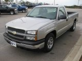 2005 Silver Birch Metallic Chevrolet Silverado 1500 Regular Cab #24101943