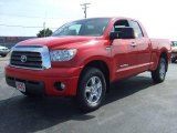 2008 Radiant Red Toyota Tundra Limited Double Cab 4x4 #2399063