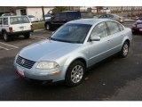 2002 Volkswagen Passat Blue Silver Metallic
