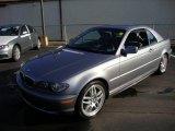 2004 Silver Grey Metallic BMW 3 Series 330i Convertible #24136864