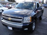 2008 Black Chevrolet Silverado 1500 LT Regular Cab 4x4 #24133719
