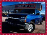 2004 Arrival Blue Metallic Chevrolet Silverado 1500 LS Extended Cab 4x4 #24136397