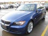 2007 Montego Blue Metallic BMW 3 Series 335i Sedan #24140930