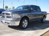 2010 Mineral Gray Metallic Dodge Ram 1500 Big Horn Crew Cab #24136923
