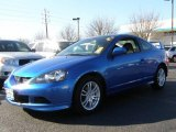 2005 Vivid Blue Pearl Acura RSX Sports Coupe #24184087