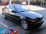 2004 Jet Black BMW 3 Series 325i Sedan #24199308
