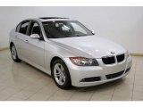 2008 Titanium Silver Metallic BMW 3 Series 328xi Sedan #24206173