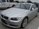 2008 Titanium Silver Metallic BMW 3 Series 328i Convertible #24202019