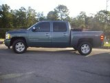 2007 Blue Granite Metallic Chevrolet Silverado 1500 LTZ Crew Cab #24200948