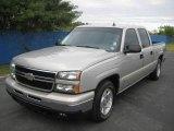 2006 Silver Birch Metallic Chevrolet Silverado 1500 LT Crew Cab #24191252