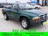 2004 Timberline Green Pearl Dodge Dakota SXT Regular Cab #24198449