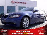 2007 Montego Blue Metallic BMW 3 Series 328i Sedan #24195703