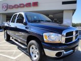 2006 Patriot Blue Pearl Dodge Ram 1500 SLT Quad Cab 4x4 #24203035