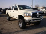 2006 Bright White Dodge Ram 1500 SLT Quad Cab 4x4 #24208775