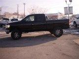 2006 Brilliant Black Crystal Pearl Dodge Ram 1500 SLT Quad Cab 4x4 #24208778
