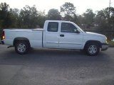 2004 Summit White Chevrolet Silverado 1500 LS Extended Cab #24264480