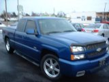 2004 Arrival Blue Metallic Chevrolet Silverado 1500 SS Extended Cab AWD #24267695