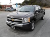 2010 Taupe Gray Metallic Chevrolet Silverado 1500 LT Extended Cab #24272061