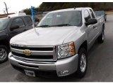 2010 Sheer Silver Metallic Chevrolet Silverado 1500 LT Extended Cab #24272057