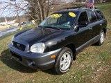 2003 Black Obsidian Hyundai Santa Fe LX 4WD #24247392